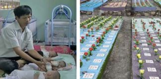 Selfless Vietnamese Man Offers to Bury Aborted Babies and Adopt Abandoned Children