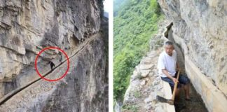 Village Leader Spends 36 Years Carving Through a Mountain to Save His Village Amazing!