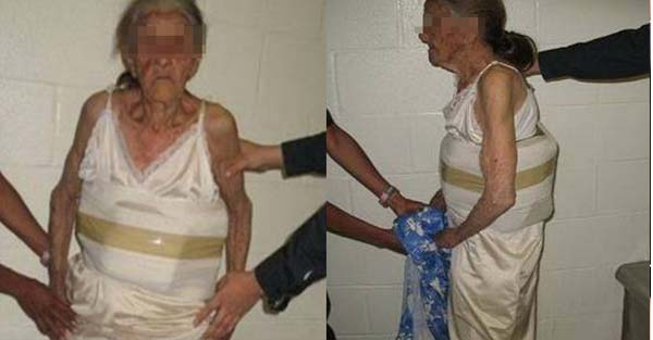 Smugglers Use a 94 year old Woman to Smuggle Marijuana across the Mexico-US Border